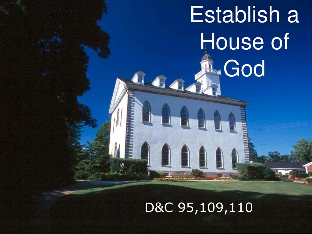 establish a house of god l.
