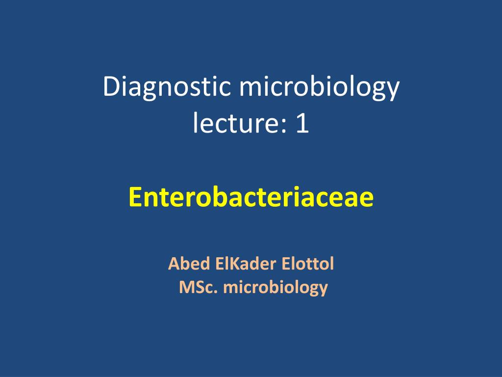 General microbiology lecture notes ppt