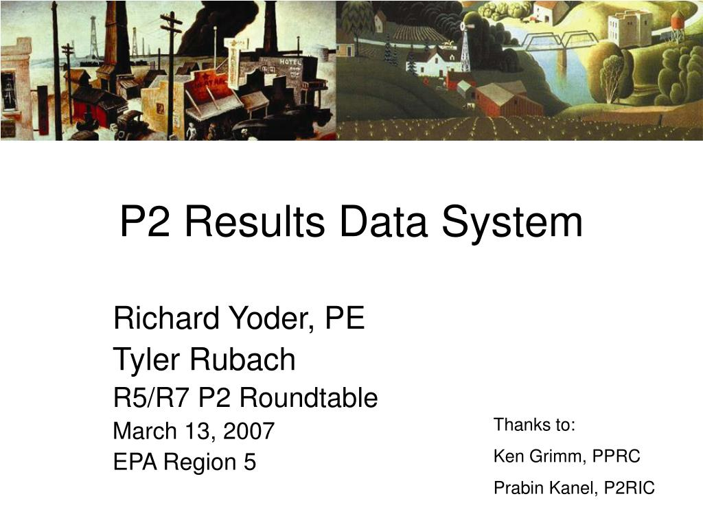 p2 results data system l.