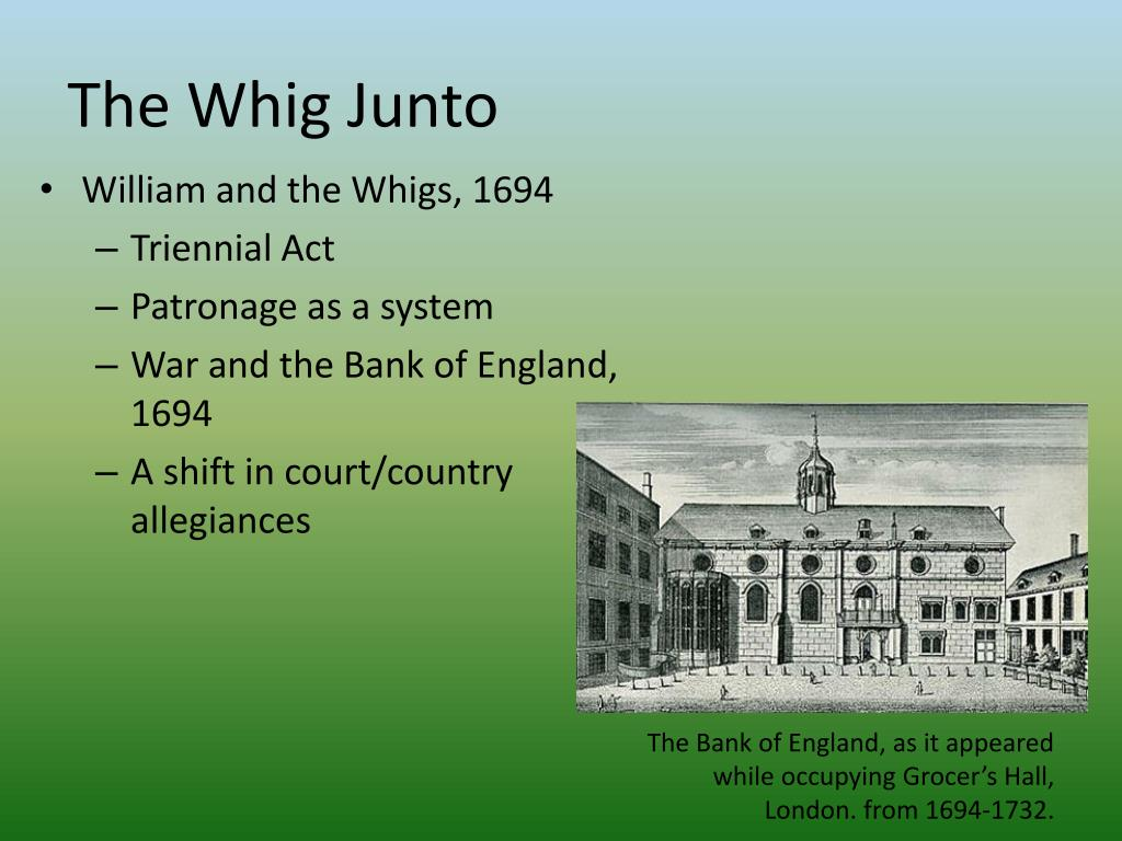 The Whig Junto