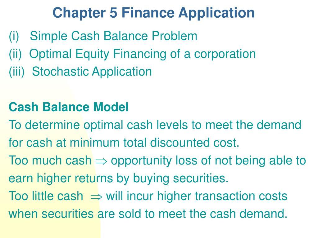 chapter 5 finance application l.