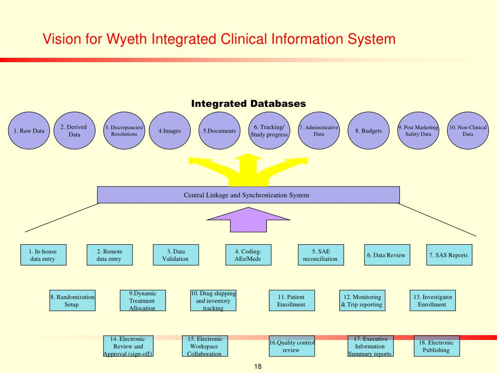 Vision for Wyeth Integrated Clinical Information System