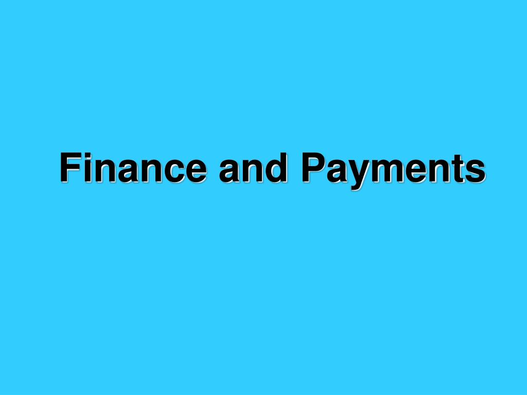 finance and payments l.