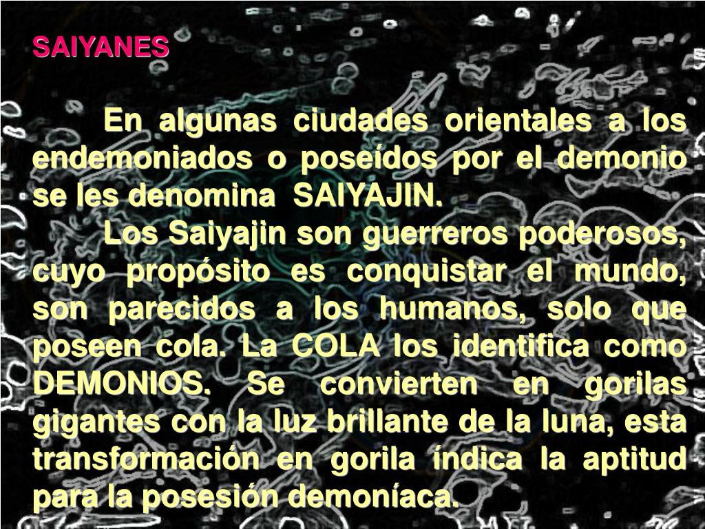 SAIYANES