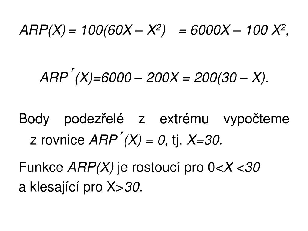ARP(X)