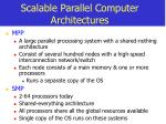 scalable parallel computer architectures8