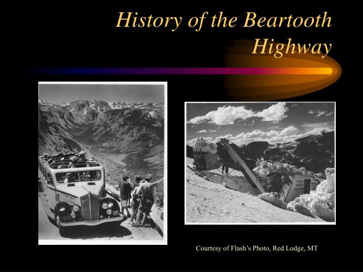 History of the Beartooth Highway