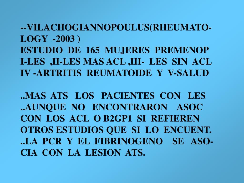--VILACHOGIANNOPOULUS(RHEUMATO-
