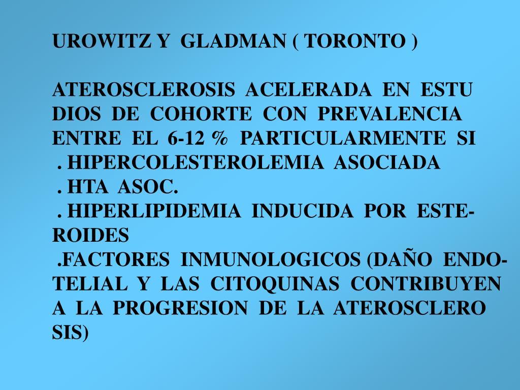 UROWITZ Y  GLADMAN ( TORONTO )