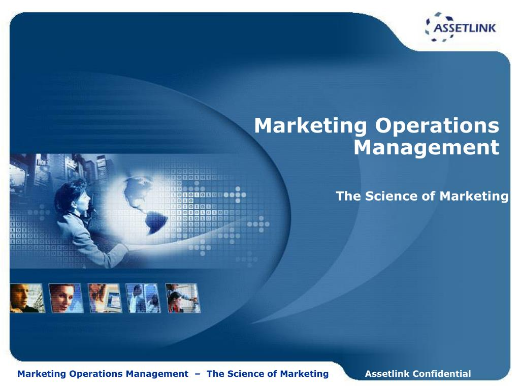 marketing operations management l.