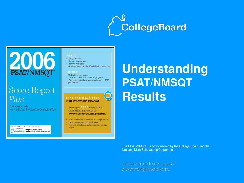 understanding psat nmsqt results l.