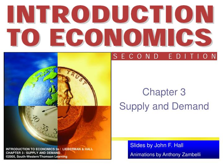 chapter 3 supply and demand n.