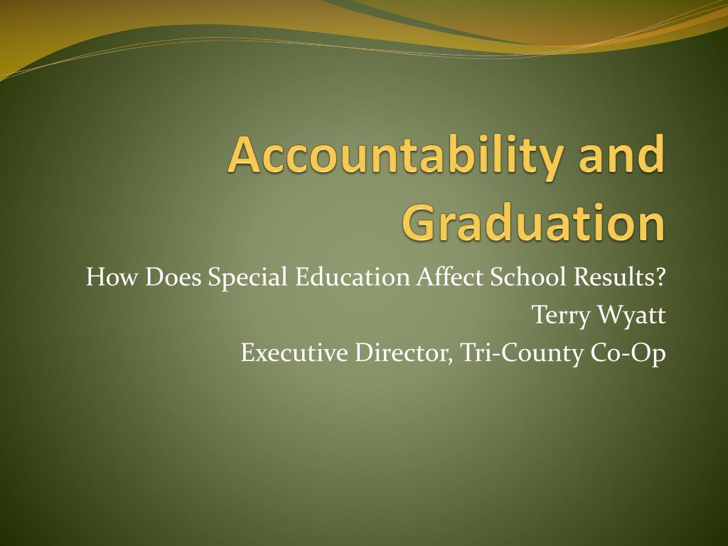 accountability and graduation l.