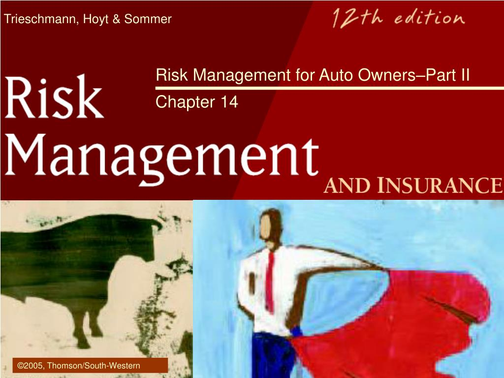 risk management for auto owners part ii chapter 14 l.