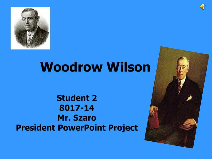 comparing and contrasting william jennings and woodrow wilson