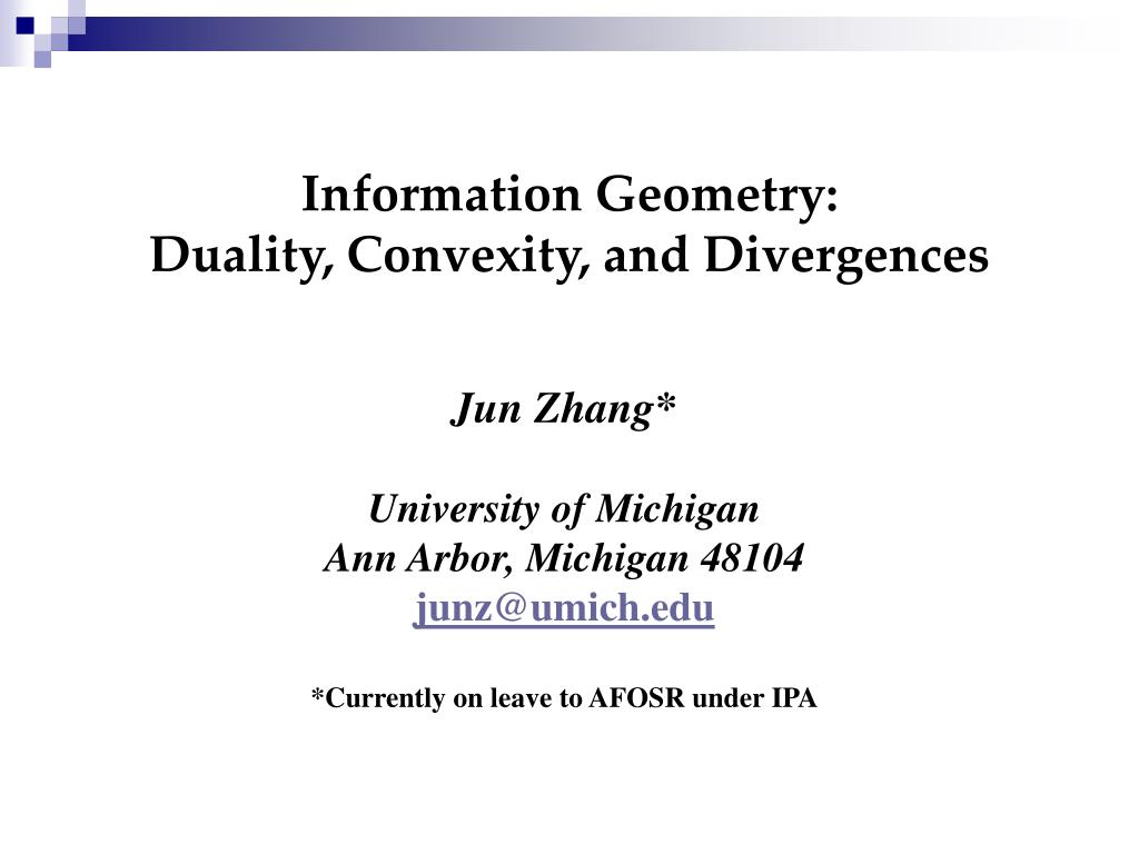 Information Geometry: