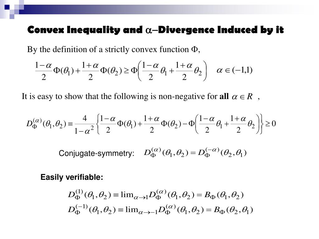 Convex Inequality and