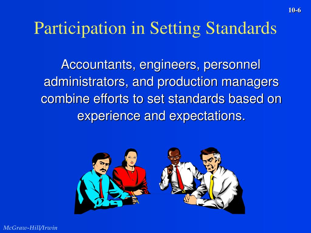 Participation in Setting Standards