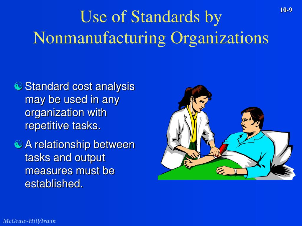 Use of Standards by Nonmanufacturing Organizations