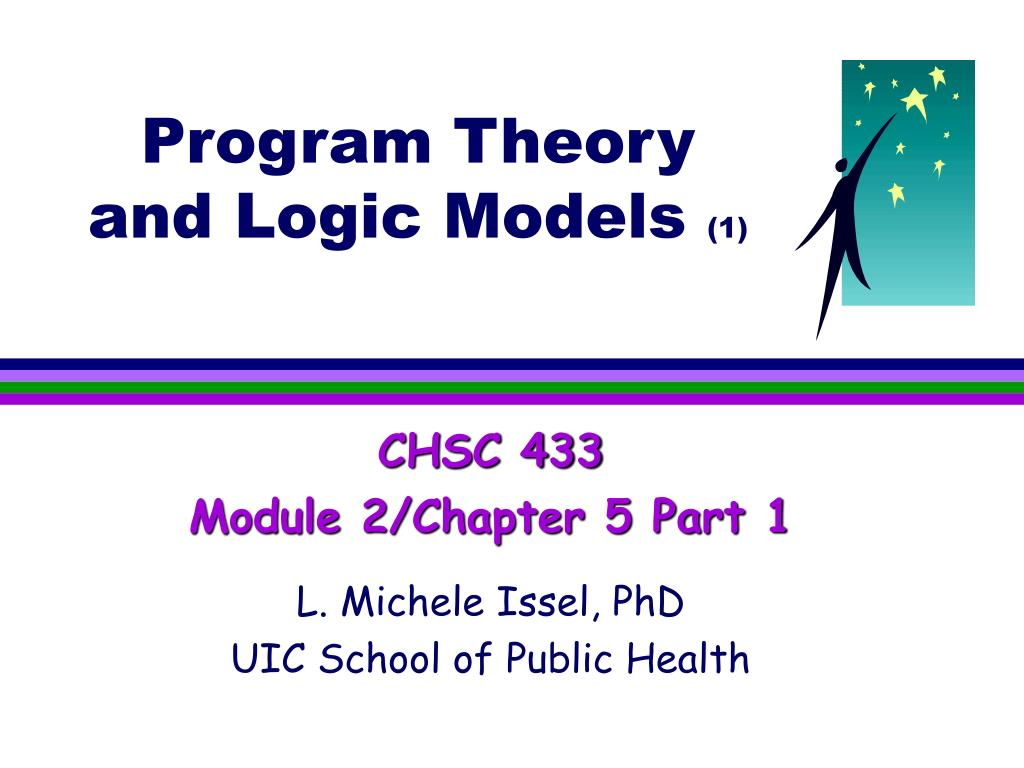 program theory and logic models 1 l.