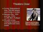 theaters close
