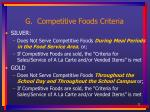 g competitive foods criteria