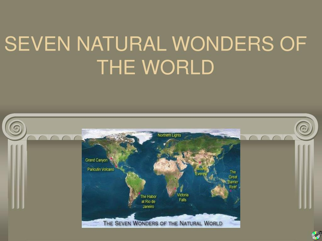 seven natural wonders of the world l.