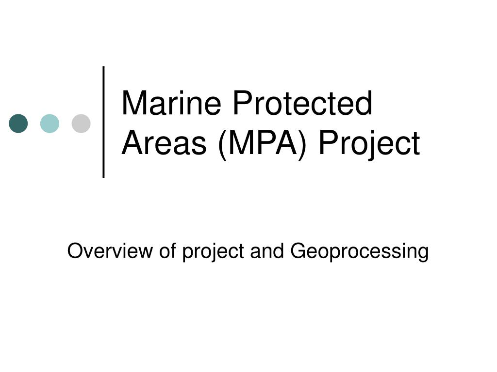 marine protected areas mpa project
