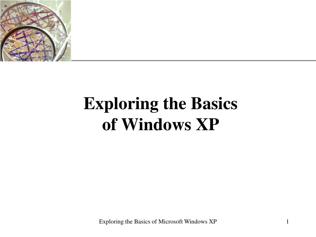 exploring the basics of windows xp l.