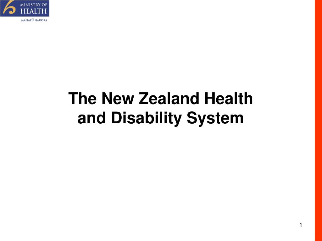 the new zealand health and disability system l.