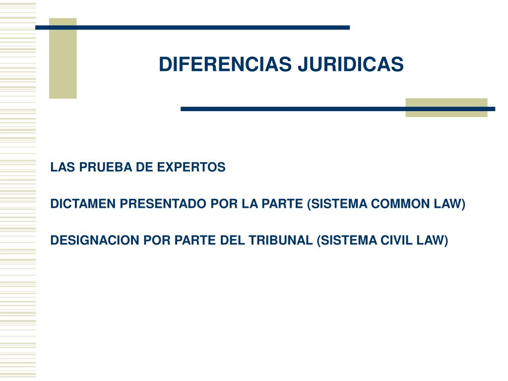 DIFERENCIAS JURIDICAS