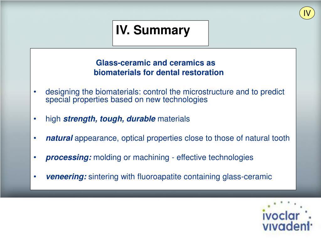 Glass-ceramic and ceramics as