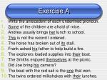 exercise a1
