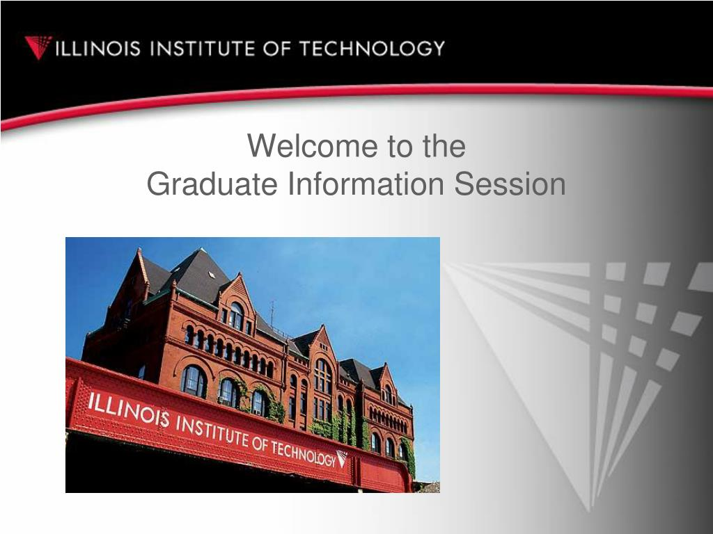 welcome to the graduate information session l.