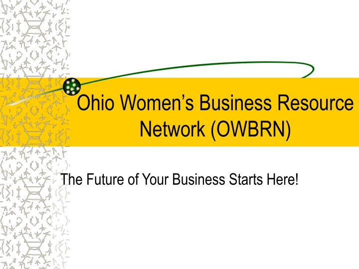 Ohio women s business resource network owbrn