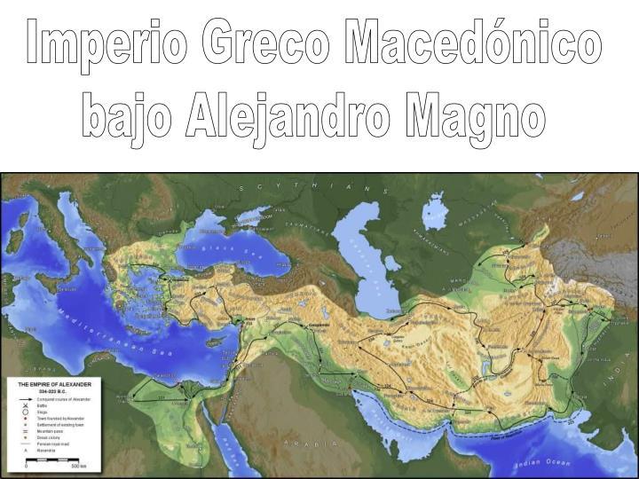 Imperio Greco Macedónico