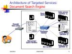 architecture of targeted services document search engine5