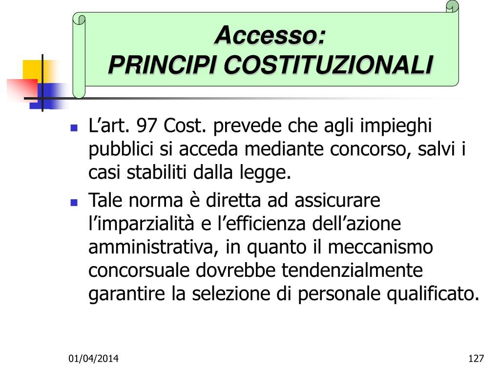 Accesso: