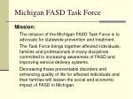 michigan fasd task force6