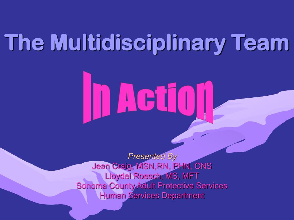 the multidisciplinary team l.