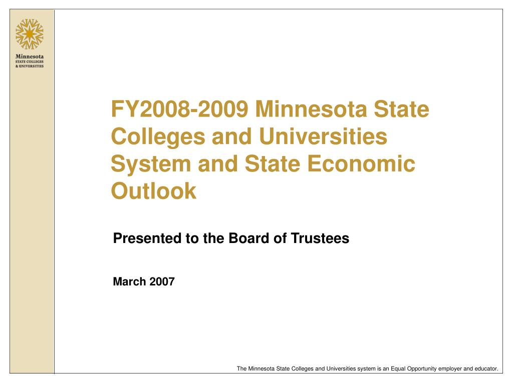 presented to the board of trustees march 2007 l.
