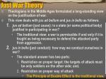 just war theory
