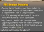 pde bomber examples