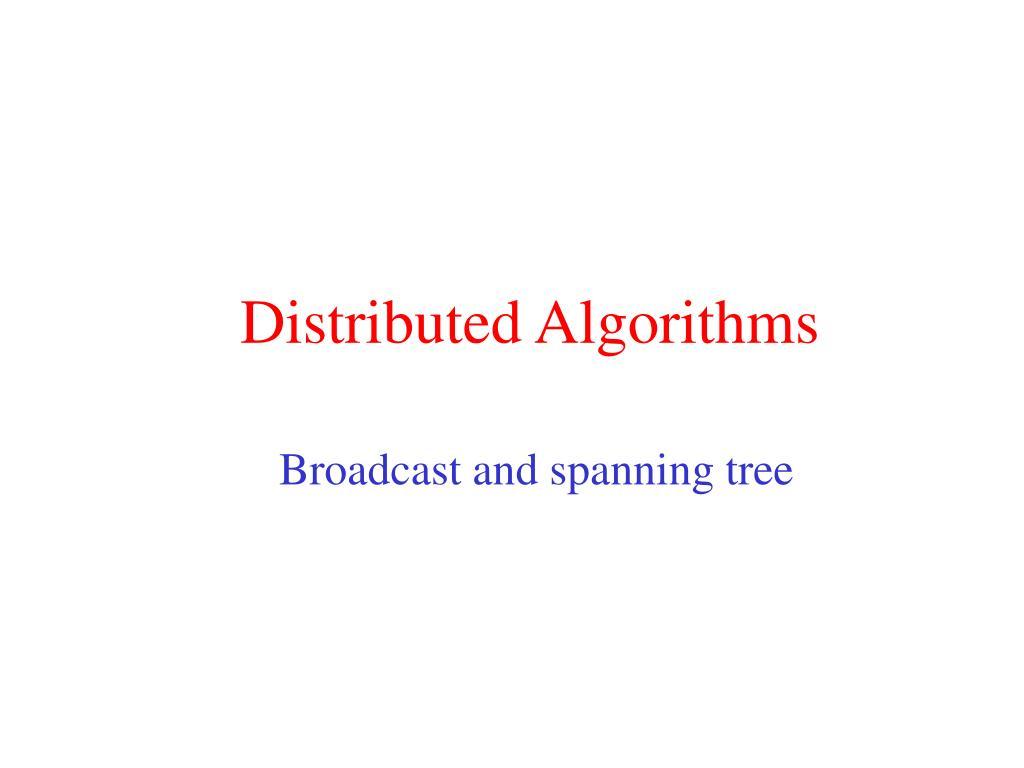 distributed algorithms l.