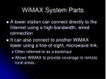 wimax system parts1
