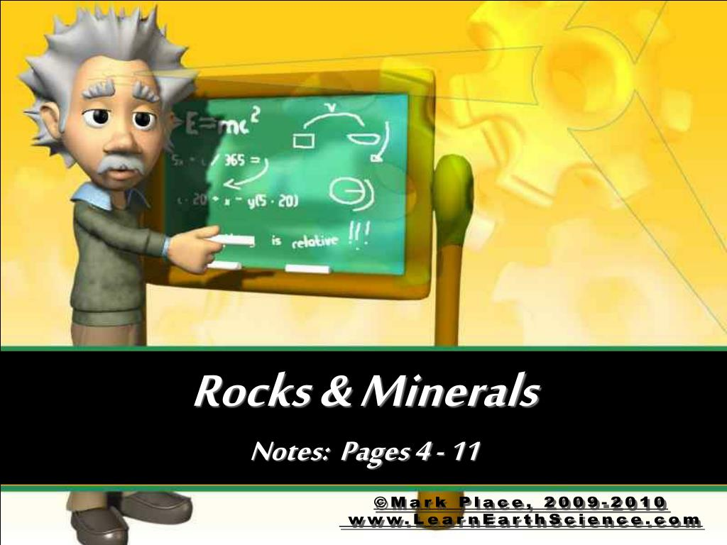rocks minerals notes pages 4 11 l.