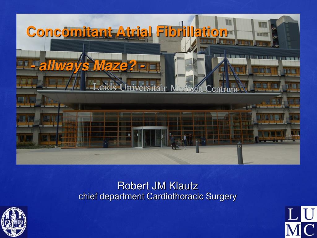 concomitant atrial fibrillation allways maze l.