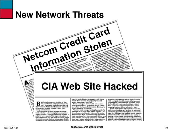 New network threats