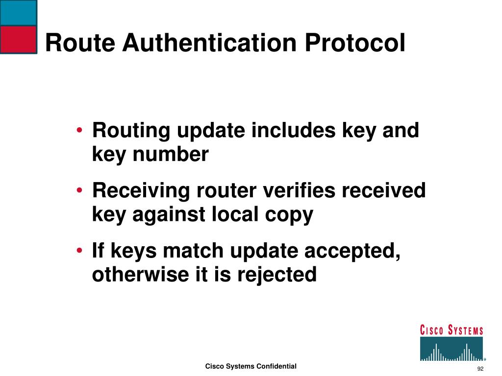 Route Authentication Protocol