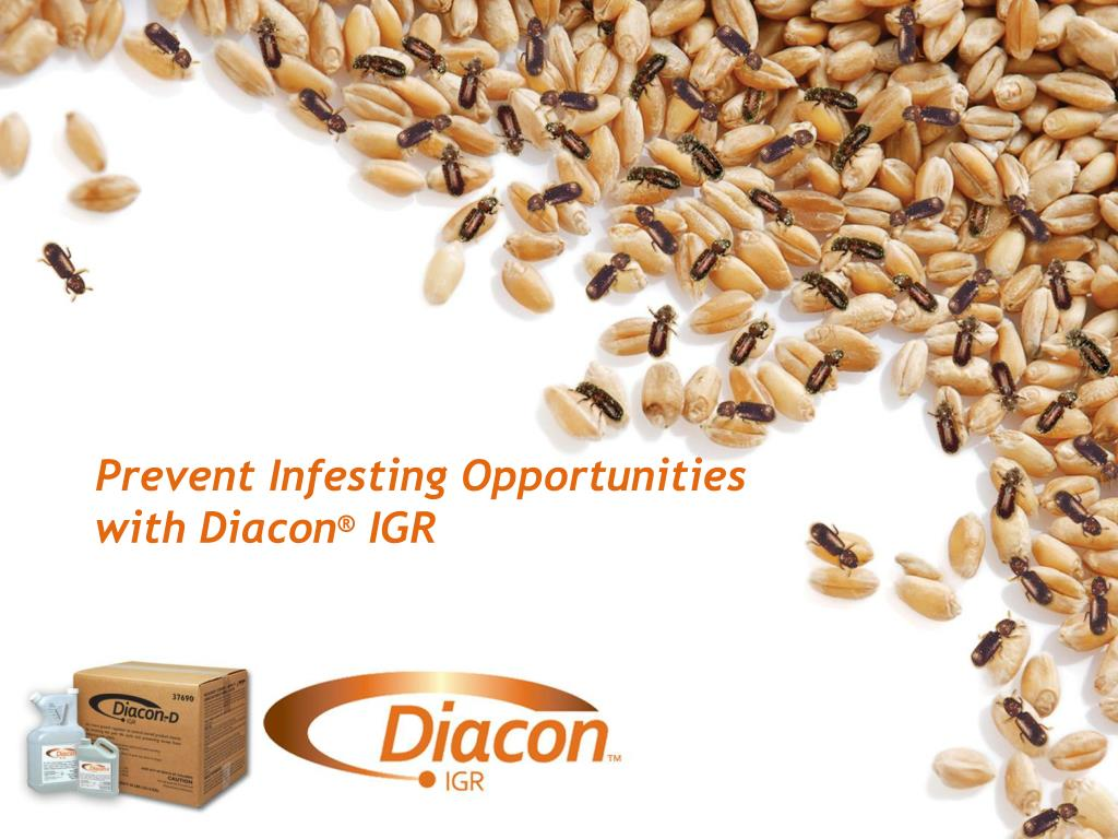 prevent infesting opportunities with diacon igr l.